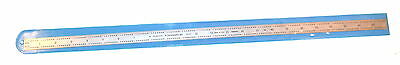 """NOS Products Engineering USA made 24"""" FLEXIBLE  RULE (50"""",100"""",32"""",64"""") #161-024"""