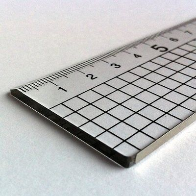 Acrylic Ruler With Stainless Steel Edge 30cm 60cm 300mm 600mm Quality Jakar