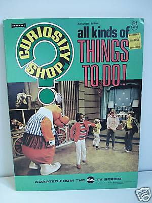All Kinds Of Things To Do Activity Book Tv Series 1971