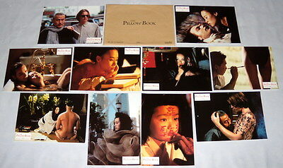 THE PiLLOW BOOK Peter Greenaway Vivian Wu Ewan McGregor FRENCH LOBBY CARDs