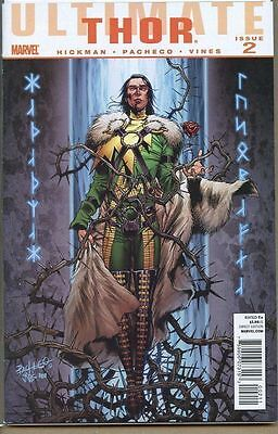 Ultimate Thor 2010 series # 2 very fine comic book