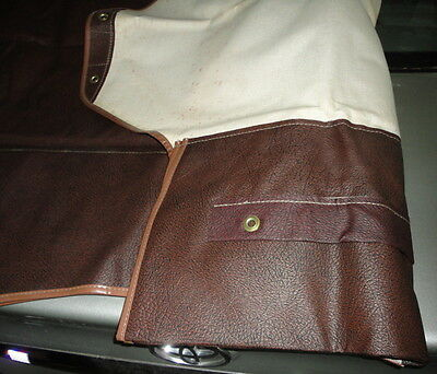 NOS Vintage 1960's Whitehead Calif Lee's Gun Case Truck Seat Cover 2 Rifle Bag