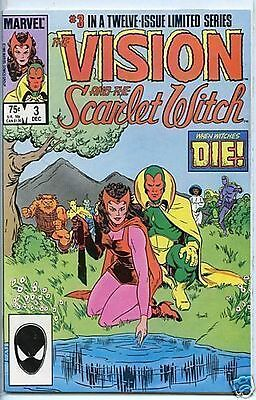 Vision and the Scarlet Witch 1985 series # 3 near mint comic book