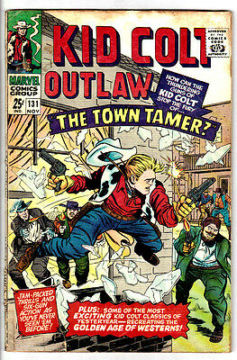 KID COLT OUTLAW #131 (GD/VG) Vintage Marvel Western Silver-Age Giant-Size Issue!
