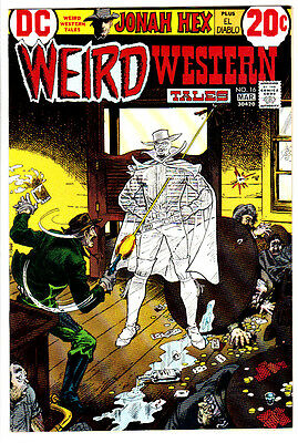 WEIRD WESTERN TALES #16 (NM-) Early JONAH HEX & EL DIABLO Appearance! 1973 DC