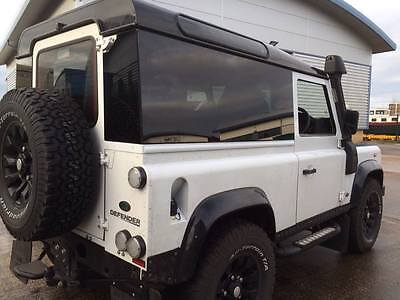 LAND ROVER Defender 90 Fixed Panoramic Glass Kit 90% Privacy Black TINT