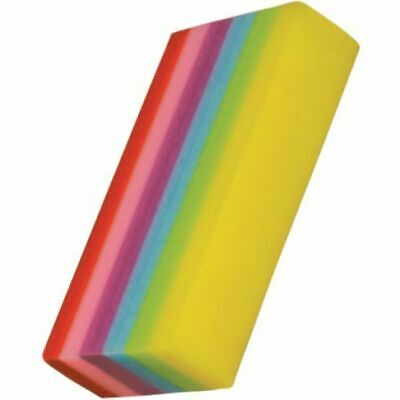 Single Rainbow Eraser Quality Bright & Beautiful Eraser Kids Party Bag Favours