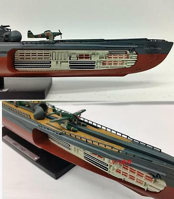 Japan I401 400 class ship model alloys simulating World War II