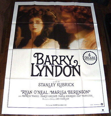 BARRY LYNDON Stanley Kubrick Aristocracy 1980s reissue LARGE French POSTER