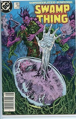 Swamp Thing 1982 series # 39 Canadian variant very fine comic book