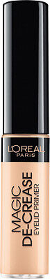 L'oreal Magic De-Crease Eyelid Primer New