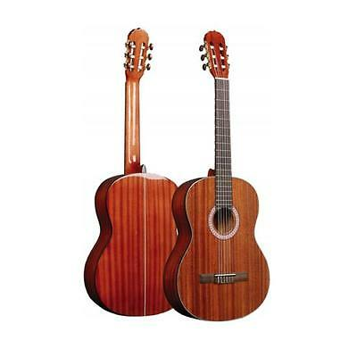 New Pyle PGA32RBR 6-String Acoustic Guitar, Full Scale, Accessory Kit Included