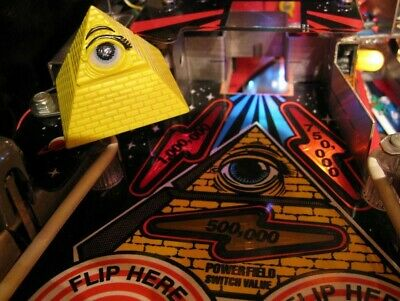 TWILIGHT ZONE PINBALL - THE PYRAMID mini-playfield  [pinball flipper MOD]