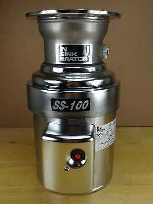 InSinkErator SS100-28 1 HP 115 208-230V 1PH Commercial Garbage Disposal Disposer