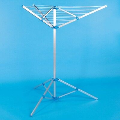 Caravan 3 Arm Rotary Airer Clothes Dryer With Tripod Caravan/Motorhome