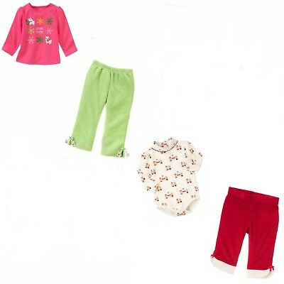 88857b683391 Gymboree Holiday Christmas Baby Girl 2 pc Set-6 12 18 24 NWT Retail Store