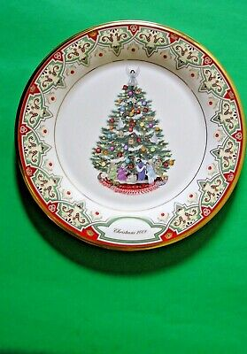 LENOX 2008 annual TREES AROUND THE WORLD PLATE 1st Quality NEW in BOX Spain