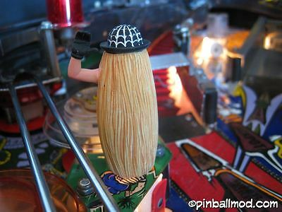 THE ADDAMS FAMILY PINBALL - COUSIN ITT PAINTED edition  [flipper machine MOD]