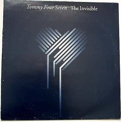 "Tommy Four Seven ""The Invisible""  12' VINYL SINGLE HOUSE DANCE TECHNO"
