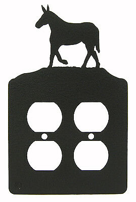 Mule Double Outlet Cover Plate