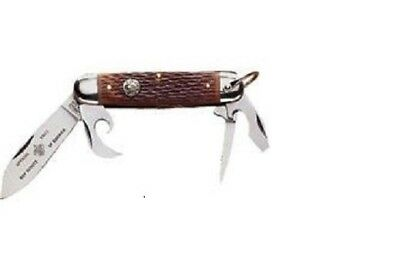 Boy Scout Official Licensed 4 Multi-Tool Stainless Steel Camp Pocket Knife New