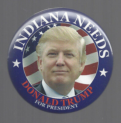 2016 INDIANA WANTS TRUMP TORCH DES BUTTON FROM IN STATE REPUBLICAN CONVENTION
