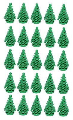 ☀️Lego New Bulk Lot Small Green Spruce Pine Trees X50 Or As Green Plants