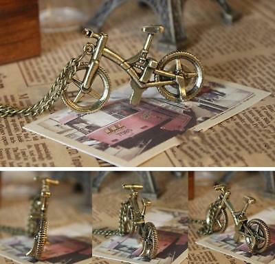 Retro bicycle pendant necklace chain fashion hotsale jewelry nice pretty alloy