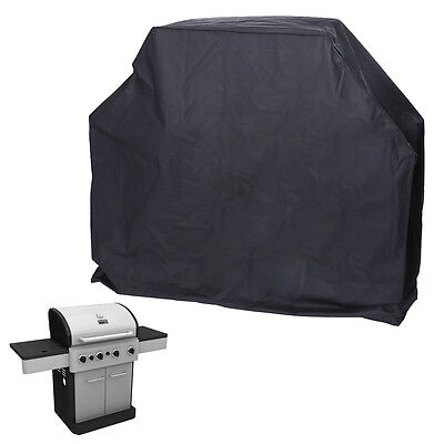 Environmentally Polyester Waterproof UV Protect Outdoor Gas BBQ Cover 6 Burner