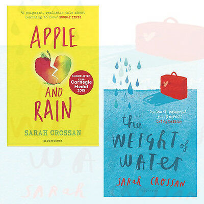 Apple and Rain,The Weight of Water 2 Books Collection Set By Sarah Crossan New
