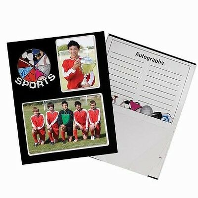 Lot of 24 Pieces - Cardboard Sports Memory Photo Frame Mate's with Pop Out Easel