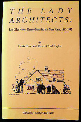 1893 -1937 Women Architects Mit Howe Manning Almy New England History