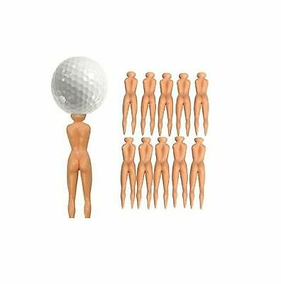 Nude Ladies Golf Tees Nuddie Naked Golfers Balls Gift Idea Clubs Driver Novetly