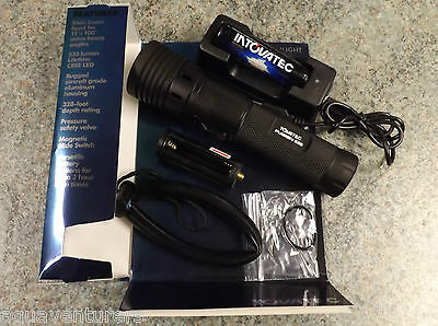 TOVATEC FUSION 530 Scuba diving Rechargeable Torch 530 Lumens