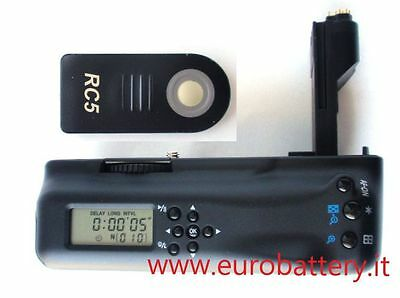 SUPEROFFERTA NEW Battery Grip BG-E6 BGE6 CANON EOS 5D MARK II LCD Timer+remote