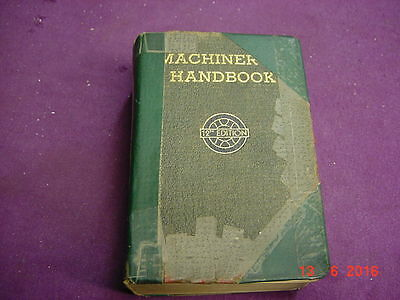 Machinery's Handbook 12th Edition 1943