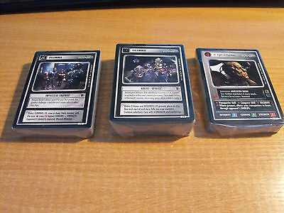 Star Trek Ccg The Borg Complete Master Set Inc All Ai & Ur, 153 Cards