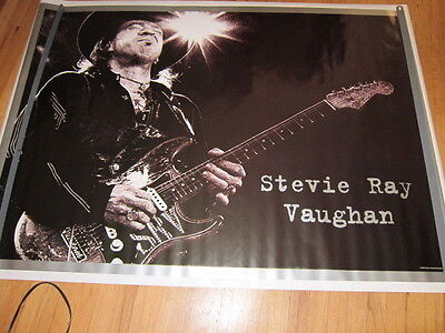STEVIE RAY VAUGHAN Import images Signatures superstars poster   Huge 40x54