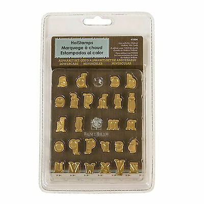 Walnut Hollow ~ Hotstamps Lowercase Alphabet Set ~ #41004 ~ BrandNew In Package