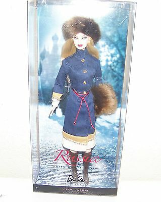 Barbie Doll Of The World Russia New Pink Label