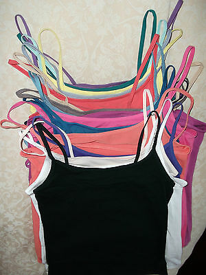 New M&S Ladies Camisole,Sleeveless-Vest,Stretch,Cotton Rich Top,Cami.+ 3 Postage