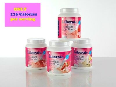 L8 Liberate Nutrition Breakfast Smoothie Diet Shake 116 CALORIES LOW PER SERVING