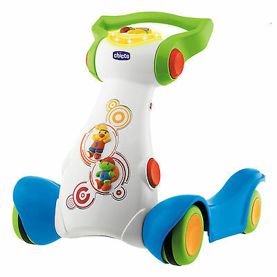 Chicco Baby Jogging Walker with 6 Adjustable Heights, White | CHI-0007151700