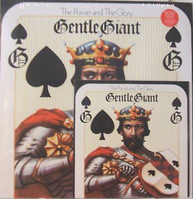 """GENTLE GIANT """"THE POWER AND THE GLORY"""" lp+7' bonus seal"""