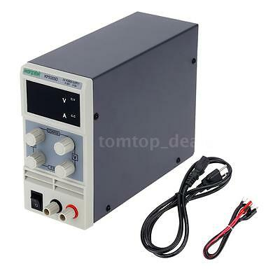 30V 5A Dual Digital LED Regulated Switching DC Power Supply Variable Adjustable