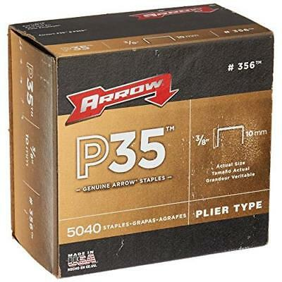 Arrow Fastener 356 Genuine P35 3/8-Inch Staples, 5,040-Pack New