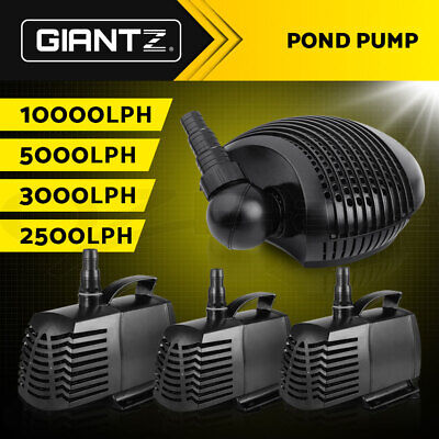 Giantz Aquarium Pump Submersible Water Fish Tank Fountain Pond Marine 2500-10000