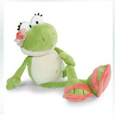 Cute green flower frog soft toy for baby dolls plush toy 50 cm stuffed animals
