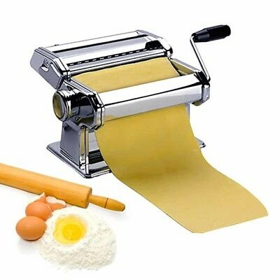 Avanti Stainless Steel Perfect Pasta Making Maker Machine Hand Tools Easy to Use