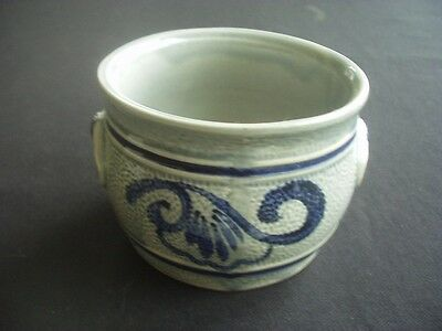 Blue & Grey Pottery Bowl / Dish ~Tableware Or Decorative